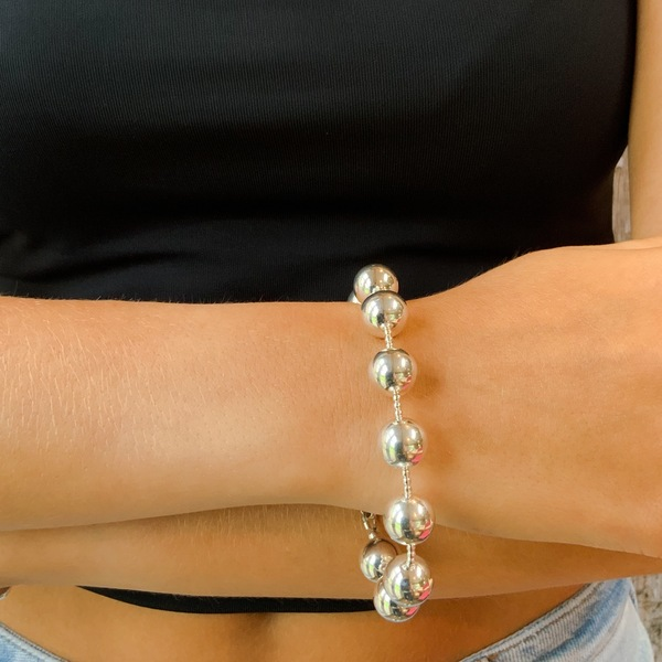 Large Orb Spacer Bracelet