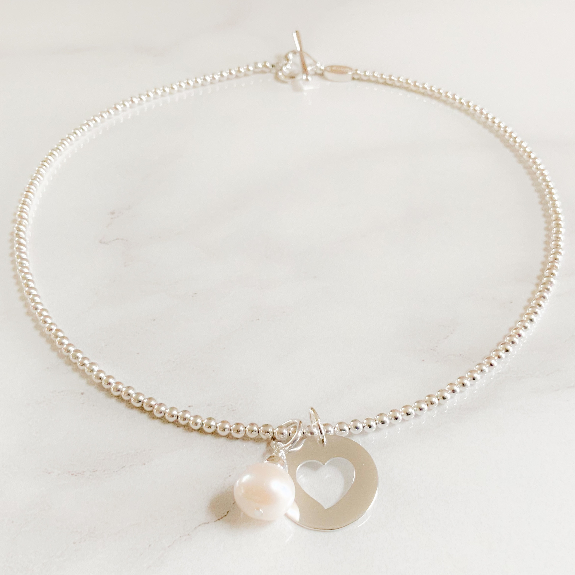 Freshwater Pearl Cluster Necklace